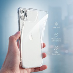 CASE ANTYBAKTERYJNY FORCELL SAMSUNG GALAXY A41 CLEAR