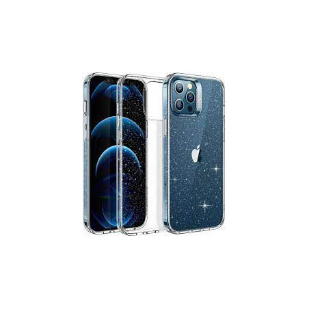 CASE ESR SHIMMER IPHONE 12/12PRO CLEAR