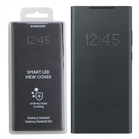 SMART LED VIEW COVER SAM GALAXY NOTE 20 BLACK